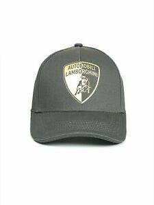 Automobili Lamborghini Cap Halved Shield (Grey)