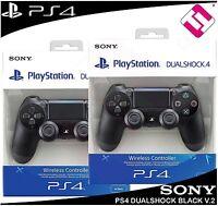 2 MANDOS PS4 DUALSHOCK COLOR NEGRO V2 PLAYSTATION 4 PRECINTADO NUEVO OFERTA SONY