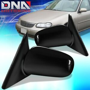FOR 1997-2005 CHEVY MALIBU PAIR OE STYLE MANUAL SIDE DOOR MIRROR REPLACEMENT