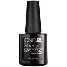 New CND Shellac Xpress5 Top Coat LED Gel Nail Polish Express 5 MIN REMOVAL 0.5oz