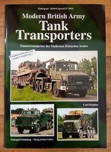 Tankograd British Special 9016 Modern British Army Tank Transporters, SB Book