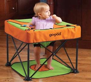 KidCo Go-Pod Portable Activity Center - Tangerine
