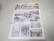 LA REVUE LORRAINE POPULAIRE N° 5 AOUT 1975 *