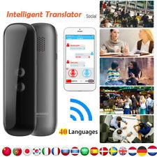 Smart Portable Instant Translator Voice Bluetooth Translation Device English