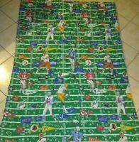 Vintage NFL Football Team Twin Comforter Blanket , Washington Redskins , Oilers