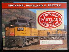SPOKANE PORTLAND & SEATTLE RAILWAY Willabee & Ward GREAT AMERICAN RAILROAD PATCH