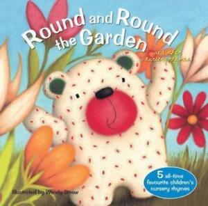 Favourite Nursery Rhymes: ROUND AND ROUND THE GARDEN - Wendy Straw - Paperback