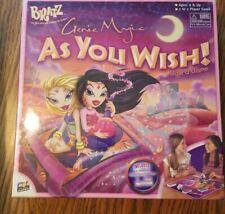 BRATZ Genie Magic As You Wish Board Game BRAND NEW SEALED 035051314509