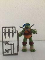 Teenage Mutant Ninja Turtles Leonardo Figure Playmates Toys 2002 TMNT 4.25 Inch