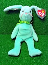 Rare Easter Bunny 1996 Ty Beanie Baby Hippity Rabbit Rare PVC With Errors MWMT
