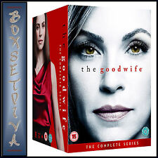 THE GOOD WIFE - COMPLETE SERIES - SEASONS 1 2 3 4 5 6 & 7 *BRAND NEW DVD BOXSET*