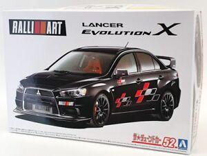 Aoshima 1/24 Scale Model Car Kit 59786 - Mitsubishi Lancer Evolution X