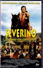 """VHS - neu & ovp - """" SEVERINO """" (1978) - Gojko Mitic - Violeta Andrei - DEFA"""