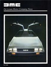 Old Print. 1980 De Lorean Motor Co Publication