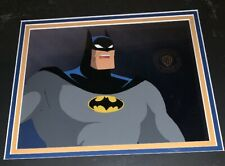 Collectibles Batman Over Gotham 1970s Cartoon Original Animation Art Cel Original Background Animation Art & Characters