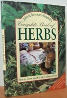 Hemphill, John, Complete Book of Herbs, Like New, Paperback