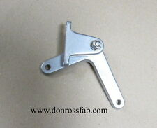 Aluminum throttle firewall mount bell crank for front engine dragster.