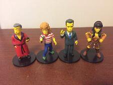 NECA Simpsons Set Of Four Minifigures Tom Hanks Xena