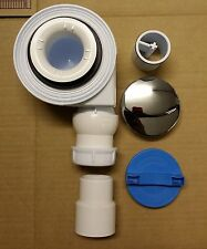 Turbo 50mm Fast Flow Waste & Trap For Shower Tray  **57 LITRES PER MINUTE**