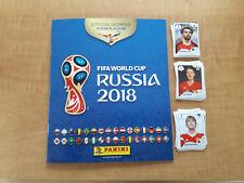 PANINI FIFA 2018 Russia Coppa del Mondo Album Vuoto quasi completo SET 473/682 Adesivi