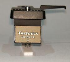 Technics EPC 205C II S with original Technics headshell!  NEW REPLICA needle!