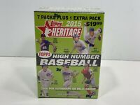 2015 Topps Heritage High Number Blaster Box, BRAND NEW SEALED!