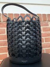 Kate Spade Dorie Black Medium Bucket Handbag New W/out Tag