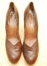 Vintage Alligator Leather Palizzio New York Heels Shoes Womens 8.5 Nordstrom's