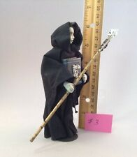 Dollhouse miniature 1/12th scale grim reaper with scythe  by Jan Smith #3