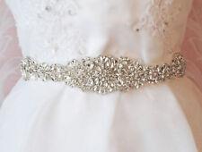 Marco de Cristal para Boda Novia Bridals Cinturón Fajín cinturón fajín Cristal ajustado con cuentas