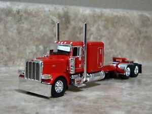 DCP 1/64 Red Flattop Peterbilt Semi Truck Farm Toy