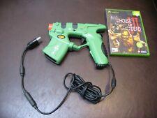 ORIGINAL XBOX LIGHT GUN - House of the Dead 3 III & MADCATZ Gun Bundle - UK PAL