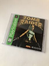Tomb Raider Ps1 Greatest hits Disc and Manual Only (Sony PlayStation 1, 1996)