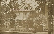 A View Of A Home in Chippewa Falls, Wisconsin WI RPPC