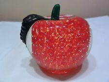 "Lenox Harvest Glory Art Glass "" Orchard Glory "" In Box - Nice"