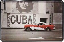 Blechschild 20x30 Viva Cuba Che Oldtimer Kuba Karibik US Car Havana Schild