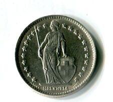 1 Schweizer Franken 1964 Schweiz Stehende Helvetia Silber M_1011