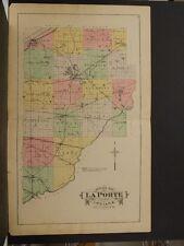 Indiana, La Porte County Map, 1892, O4#86