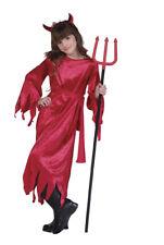 Girls Halloween Childrens Devil Costume sz Small