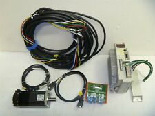 Mitsubishi AC Servo Motor HF-KE43BW1-S100,Controller MR-E-40A-KH003,CNC,LinuxCNC