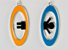 Portal 2 Inter-Spatial Portal Earrings - Valve - Cosplay