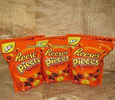 Reese's Pieces Bulk XL Ziploc Style Bag's Nine (9) Pounds Bulk Candy by Hershey