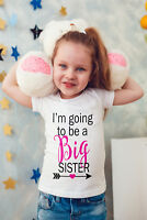 i'm going to be a Big Sister baby/Vest or tshirt - pregnancy announcement