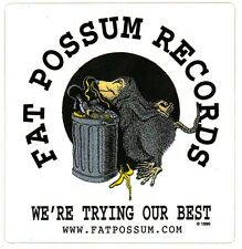 Fat Possum Records Ltd Ed Rare Sticker Black Keys Districts Yuck Modest Mouse