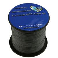 Gray Spectra 100%PE Dyneema Braided 4Plys 8Plys 6-300LB 100-1000M Fishing Line