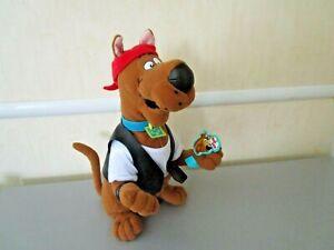 Scooby Doo Cartoon Network Biker Scooby Plush Stuffed Animal Applause~ 2001