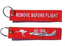 RAAF KC30 MRTT Remove Before Flight Key Tag Luggage Tag Key Ring