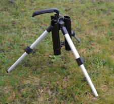 Dreibein Rutenhalter Spoonrutenhalter Rutenständer Forellenrutenhalter Teleskop