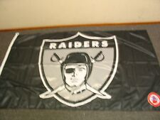 Oakland Raiders 3' X 5' Flag