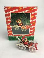 McDonald's ON YOUR MARK, GET SET, IS THAT TO GO 1993 Enesco Christmas Ornament